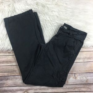 Lucky Brand Cargo Pants Lightweight Wide Leg